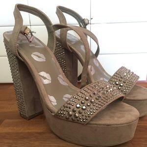 Juicy Couture Wedge High Heels
